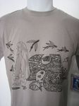 Tee-Shirt Tahitien Hinano Flying Fish, Taille SMALL